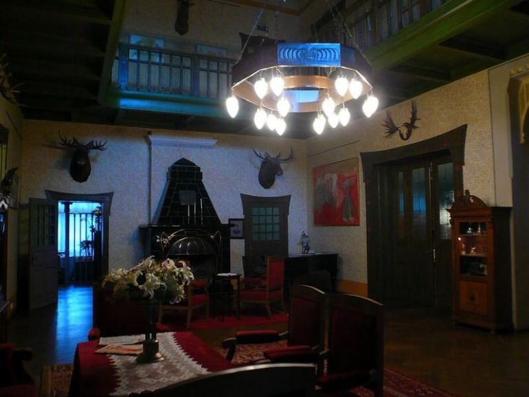 Parnu Villa Ammende salon
