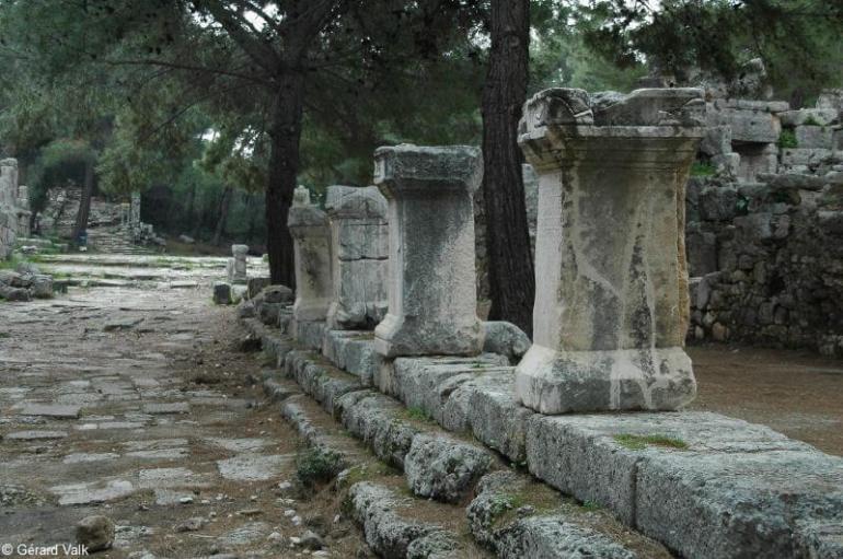 Phaselis vestiges du site antique
