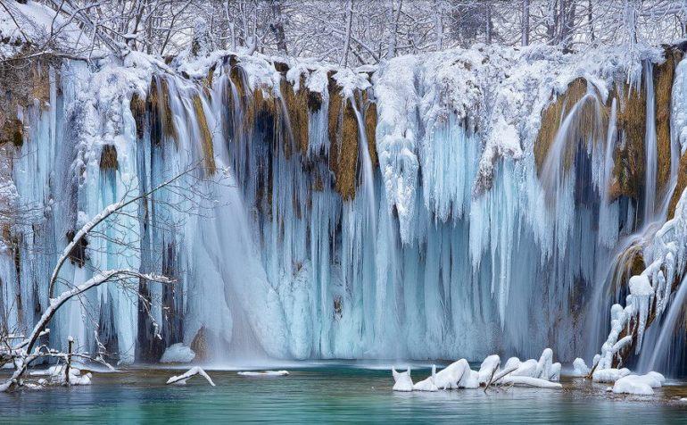 Plitvice en hiver