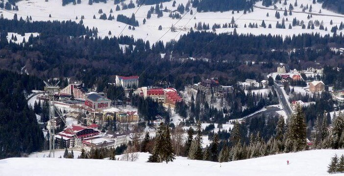 Ponaia Brasov station de ski en Roumanie