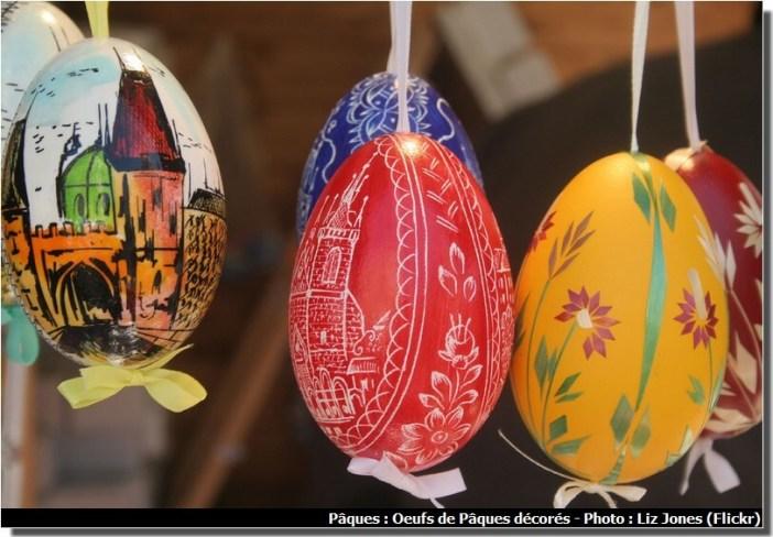 Prague oeufs décorés de paques