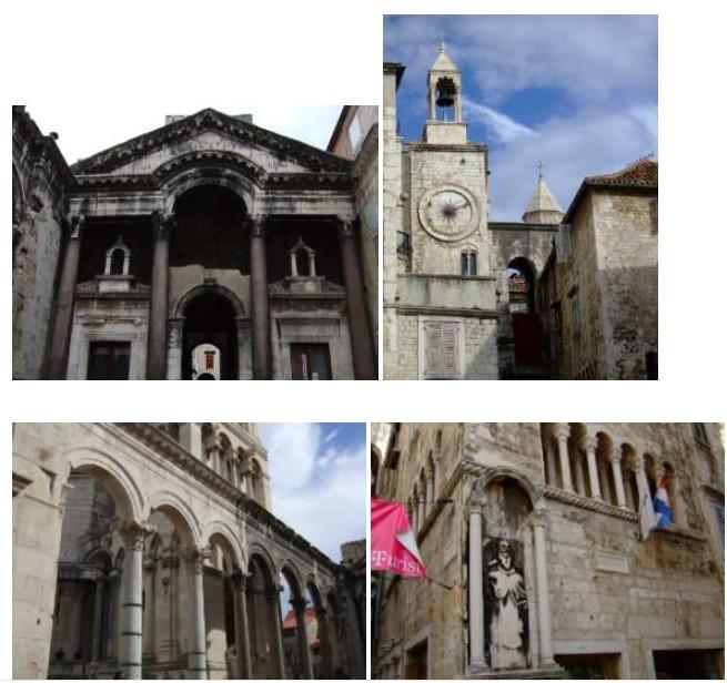 Split palais de Dioclétien