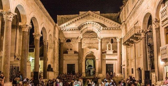 Palais Dioclétien à Split