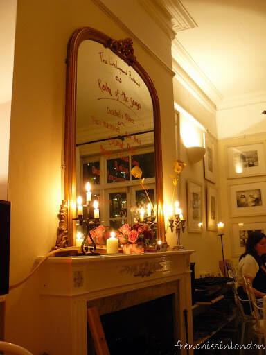 Underground restaurant Londres