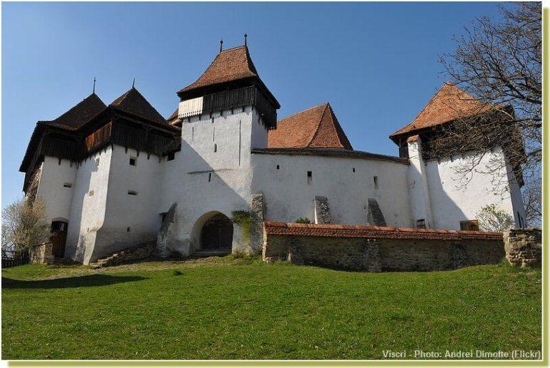 viscri en transylvanie village fortifié saxon