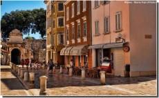 Zadar rue pietonne