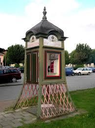 cabine téléphonique suédoise