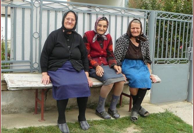 femmes serbes campagne en serbie