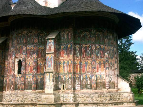 monastère moldovitsa