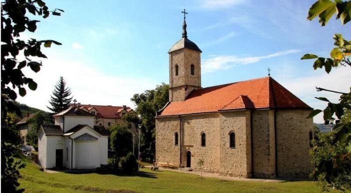 monastère orthodoxe de Rajinovac en Serbie centrale