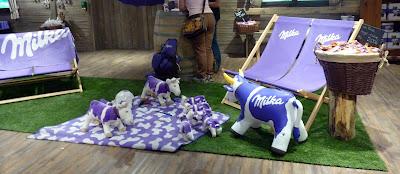 munich Schrannenhalle Viktualienmarkt chocolat milka