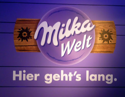 munich Schrannenhalle Viktualienmarkt milka