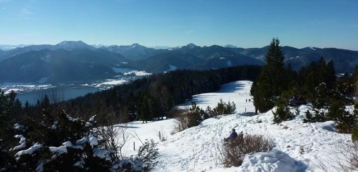 tegernsee sous la neige