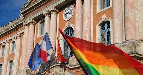 toulouse gay friendly drapeau