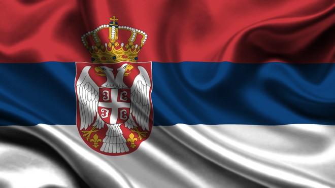 serbie drapeau
