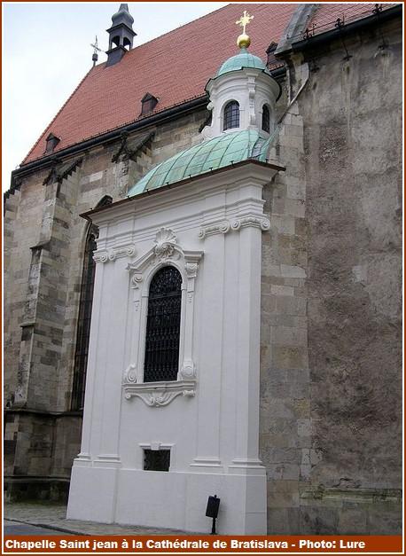 Bratislava Cathédrale Saint Martin chapelle Saint Jean