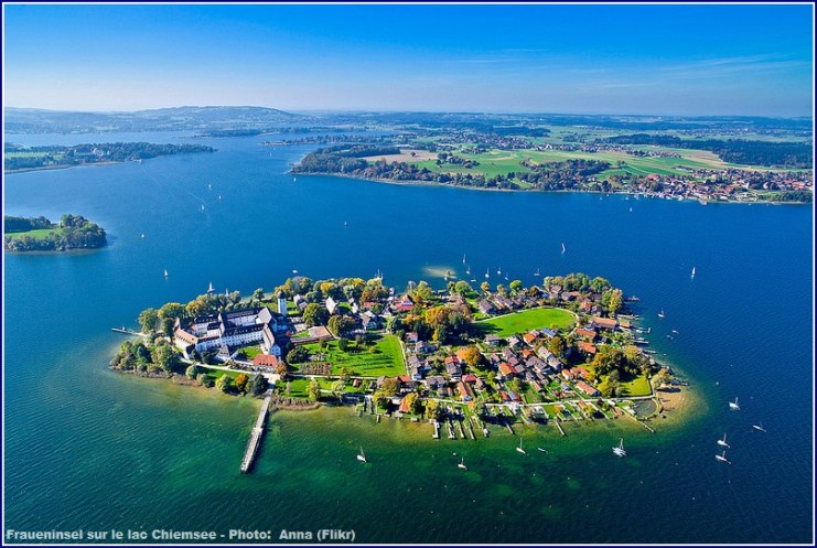 Lac chiemsee fraueninsel