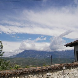 Montagne depuis Berat