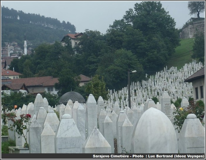 Sarajevo cimetiere sur les collines