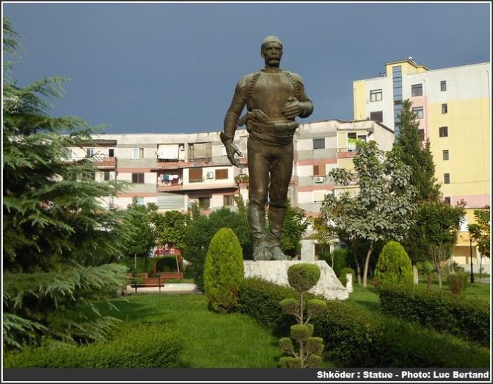 Shkoder Statue