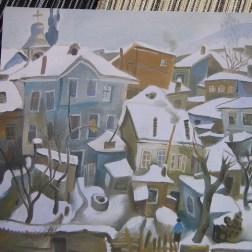 Taso village sous la neige