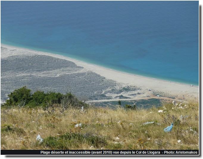 Albanie plage deserte