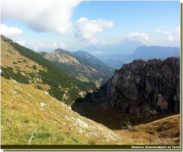 Hinteres Sonnwendjoch Tyrol autrichien
