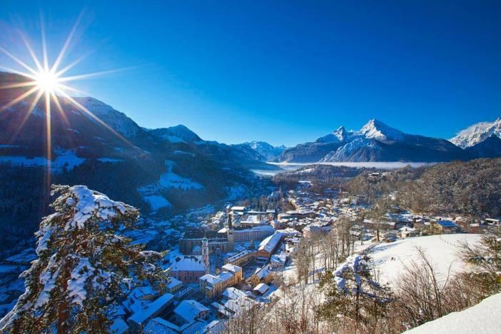 Berchtesgaden en hiver