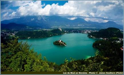 Lac de Bled en Slovenie