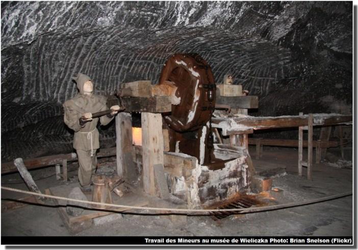 Mine de sel Wieliczka musée travail des mineurs