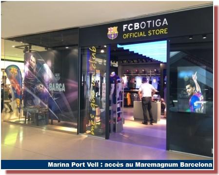 fc botiga maremagnum barcelona