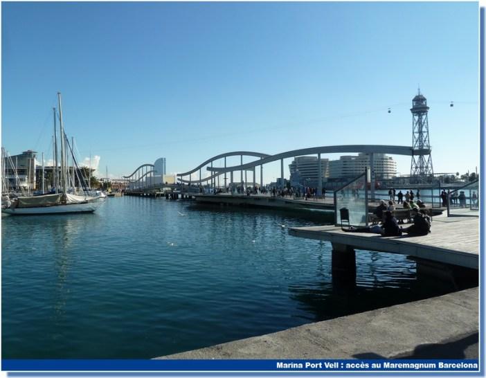 marina maremagnum barcelona port vell