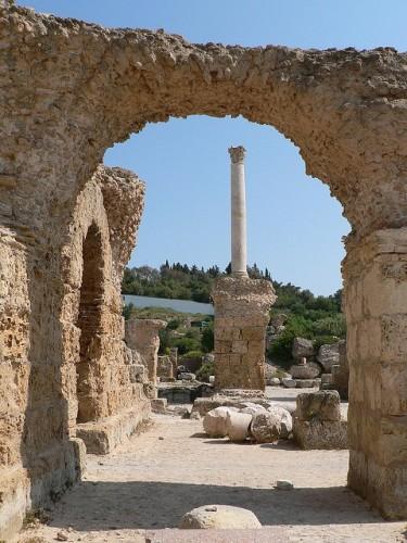 colonne Carthage