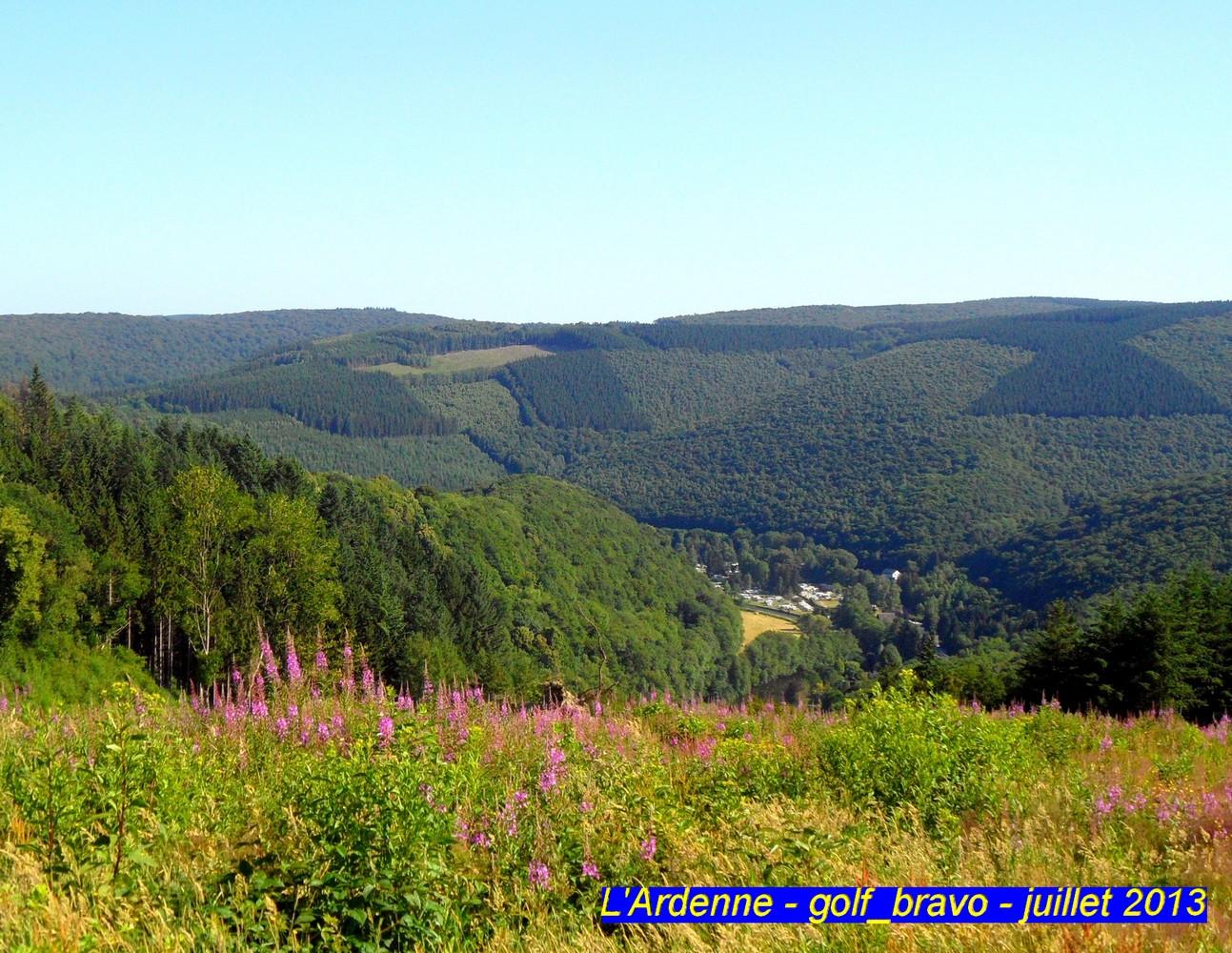 Explorer l'Ardenne belge en randonnée en suivant le GR 15 1
