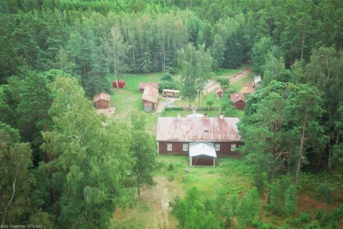 Ecotourisme sur l'île d'Hiiumaa en Estonie