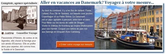 aller en vacances au danemark : devis agence de voyage locale