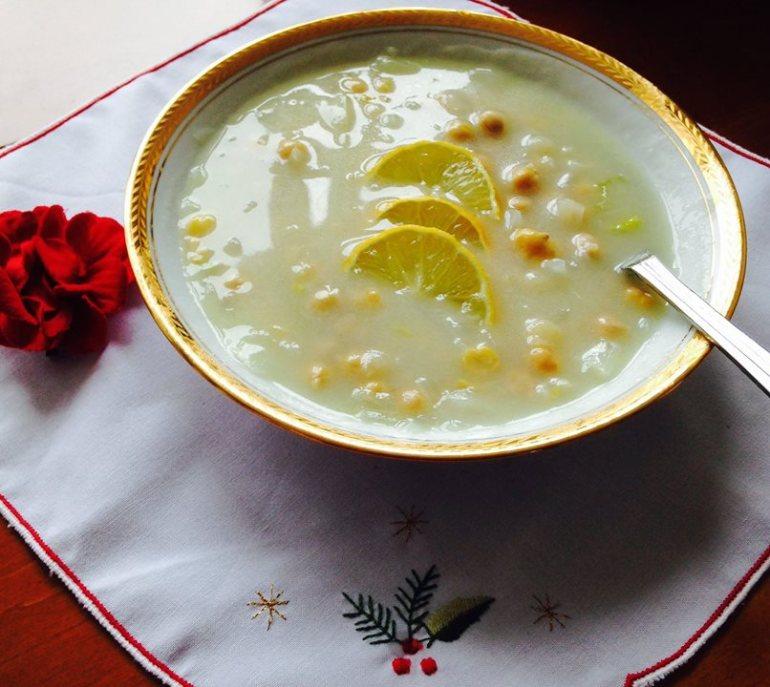 revithia soupa soupe de pois chiches grecque