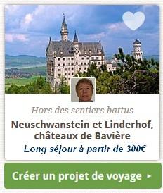 créer un séjour en bavière sur mesure au chateau neuschwanstein