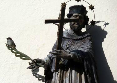 mittenwald statue catholique