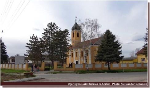 Eglise Ogar Serbie