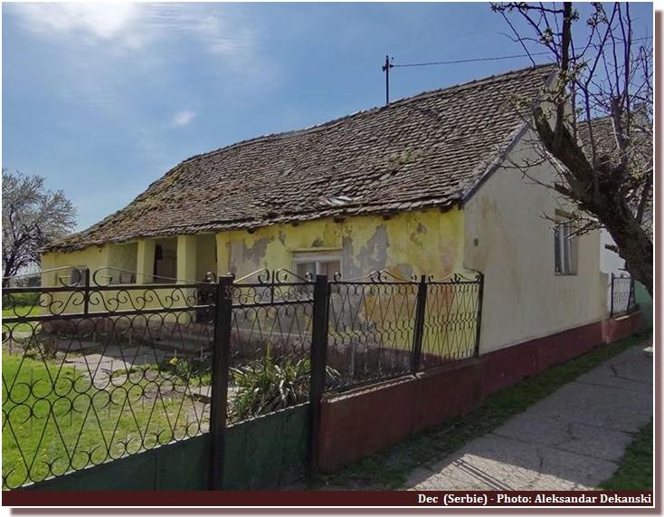 Maison à dec (serbie)