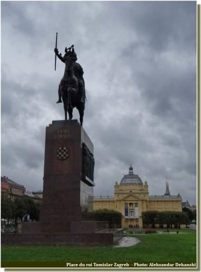 Place du roi Tomislav Zagreb
