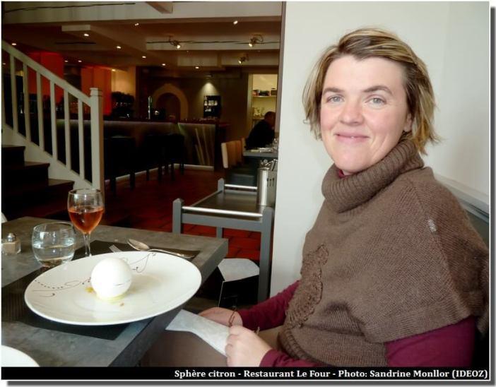 Restaurant le Four Castelnaudary Sphère Citron