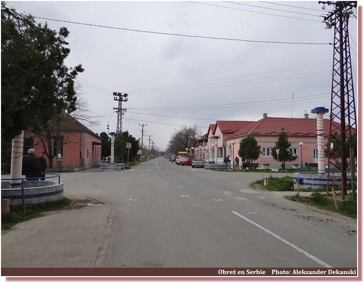 rue obrez serbie