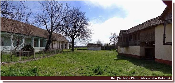 dec (serbie) maison ferme