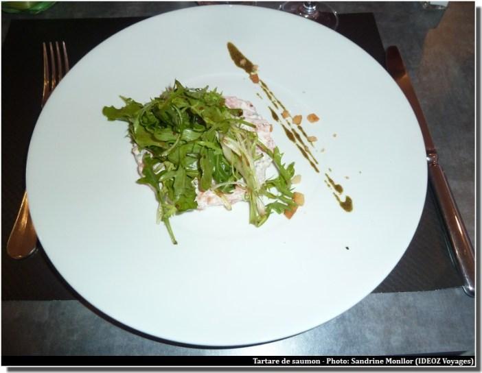 restaurant le four castelnaudary tartare au saumon