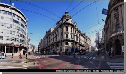 Belgrade carrefour de Londres
