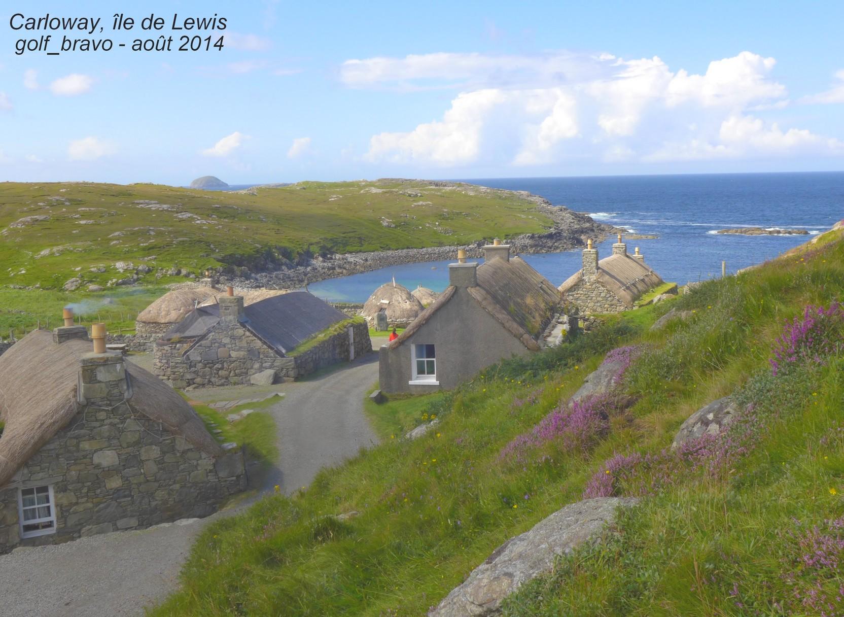 Iles Lewis et Harris, deux îles en une au bout du monde en Ecosse 1