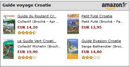 trouver un guide voyage en croatie