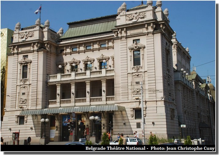 Belgrade theatre national